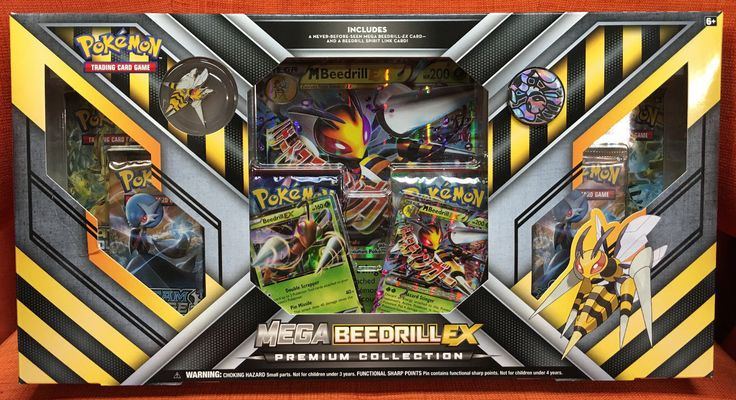 Mega Beedrill EX Premium Collection Box Pokemon Trading Card Game New Sealed