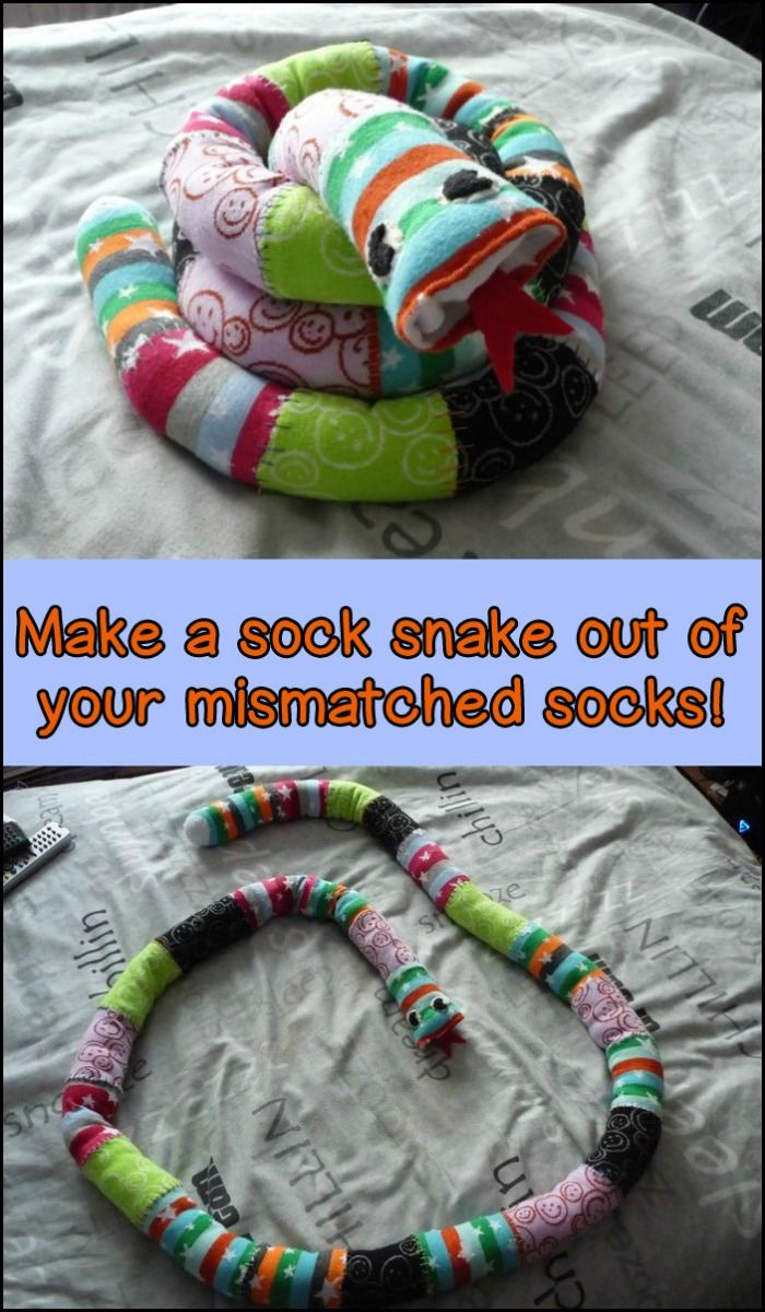 how to make sock bubbles