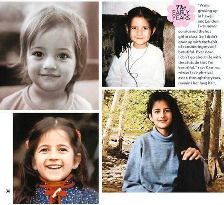 Katrina Kaif childhood photos   Celebrity family wiki