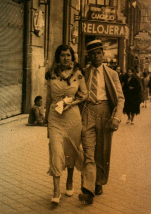 Calle Bravo Murillo. Madrid, 1932