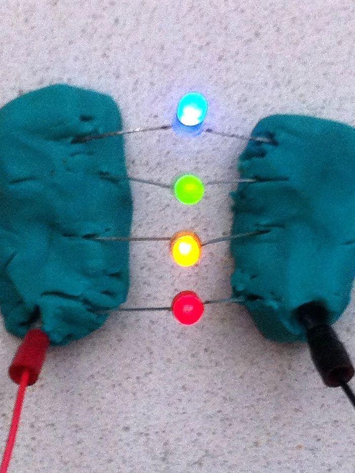 Plastilina circuitos 2: experimentar con la electricidad (Surf Científico)