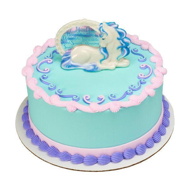 Enchanting Unicorn Cake Decorating Kit Topper Decoration Fairytale