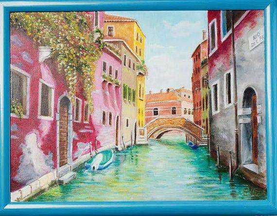 Sunny day in Venice by ArtforInterior on Etsy