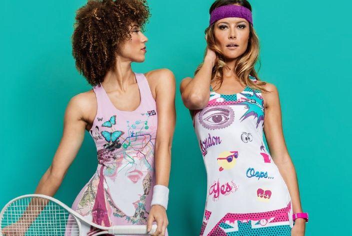 Tennis Star Marion Bartoli Launches FILA Fashion Line