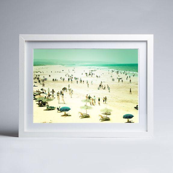 Keri Bevan - Caravan Trails - Framed print