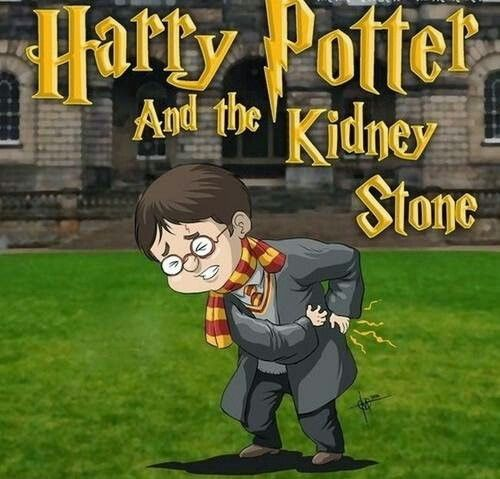 Harry Potter and the kidney stone