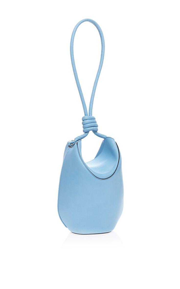 Flamenco Cocoon Bag In Light Blue by Loewe for Preorder on Moda Operandi