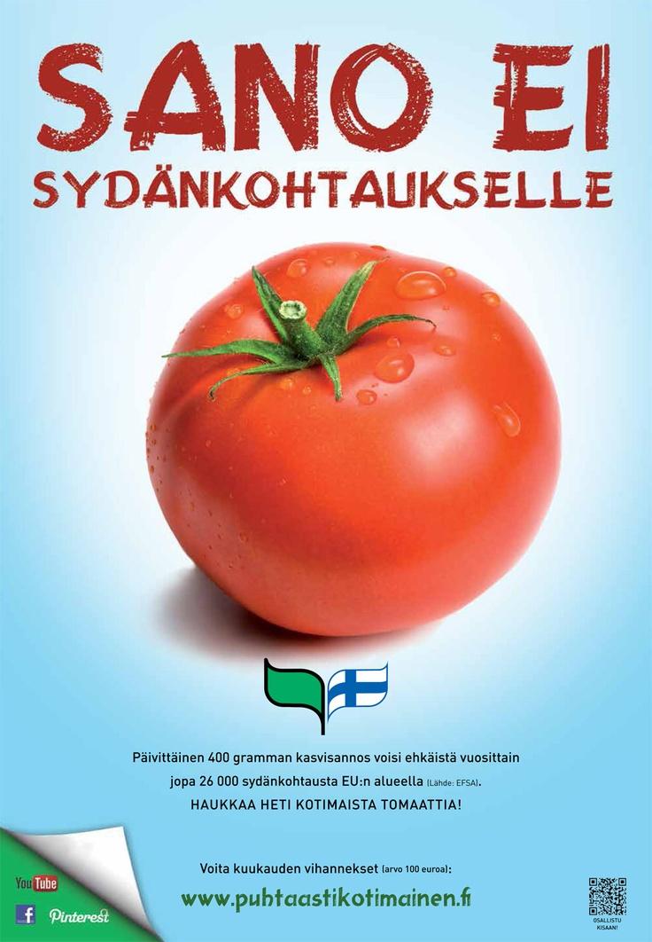 Puhtaasti kotimainen - Sano ei sydänkohtaukselle! 2013
