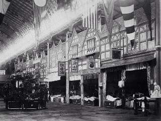 Inside the Garden Palace in Sydney (year unknown).Photo from State Library of NSW.A♥W