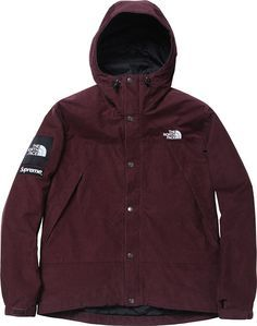 the north face/supreme mountain shell jacket