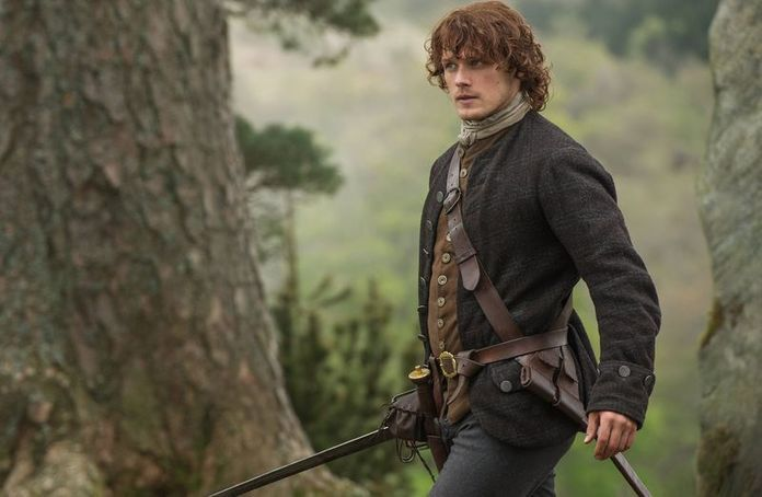 Jamie Fraser, who appears on Starz's Outlander series, would choose a wide array of books for on his fictional bookshelf - now you can see, too!