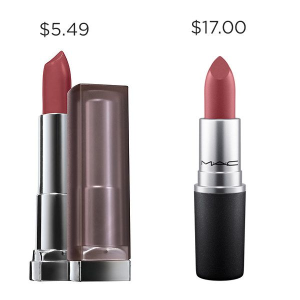 """When that """"available balance"""" starts trippin', save $11.51 with Maybelline Touch of Spice instead of MAC So Select."""