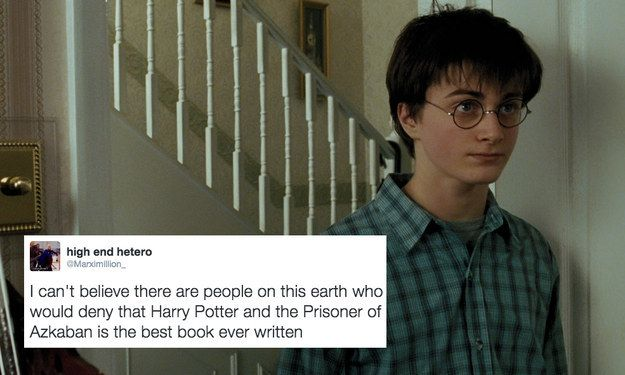 Obviously, all of the Harry Potter books are amazing for different reasons, but Prisoner of Azkaban is definitely the best.