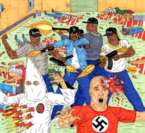 From Gangsta Rap Posse #2 comic by Benjamin Marra