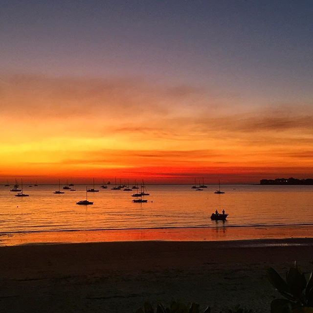 Fannie Bay #Darwin #seeaustralia #sunset