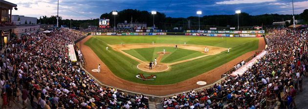 Joseph L. Bruno Stadium home of the Tri-City ValleyCats - Where my son spends a lot of his time...MISS HIM!!