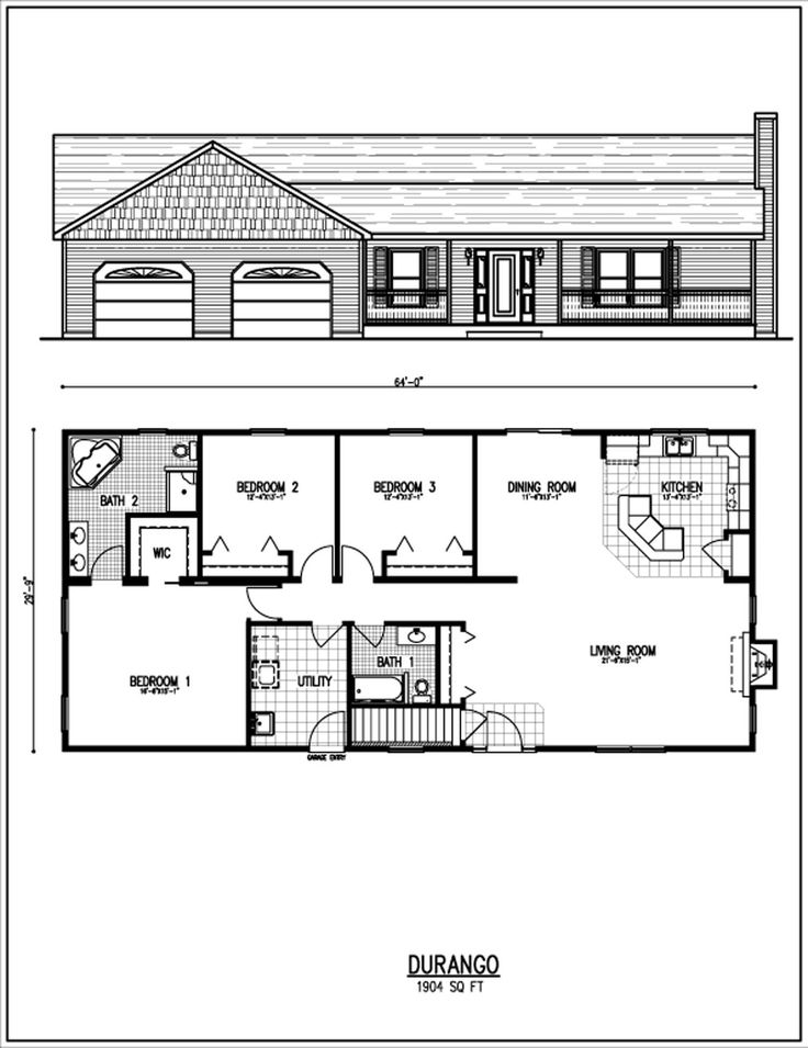 Ranch House Floor Plans | HOUSE PLANS | HOME DESIGN | PLAN PACKAGES