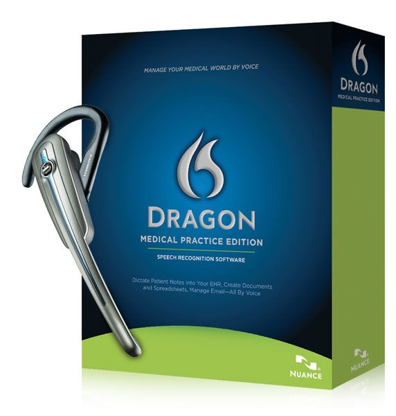 Dragon Medical Practice 2 with Plantronics Savi Go - for wireless comfort and dictation to your EMR system. Call us today at 800-597-6600 - Free shipping - Free Support - Free Training