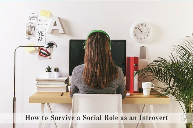 How to Survive a Social Role as an Introvert - Career Advice on The Workher