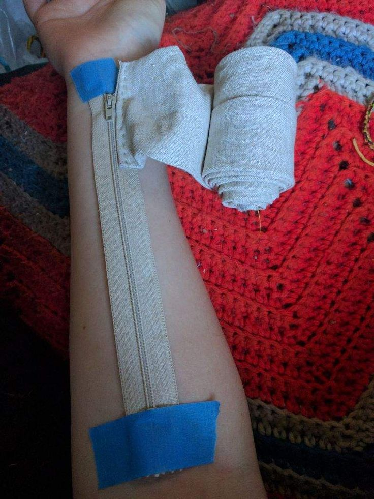 So I wanted to make fabric arm Bracers for Gojyo c…