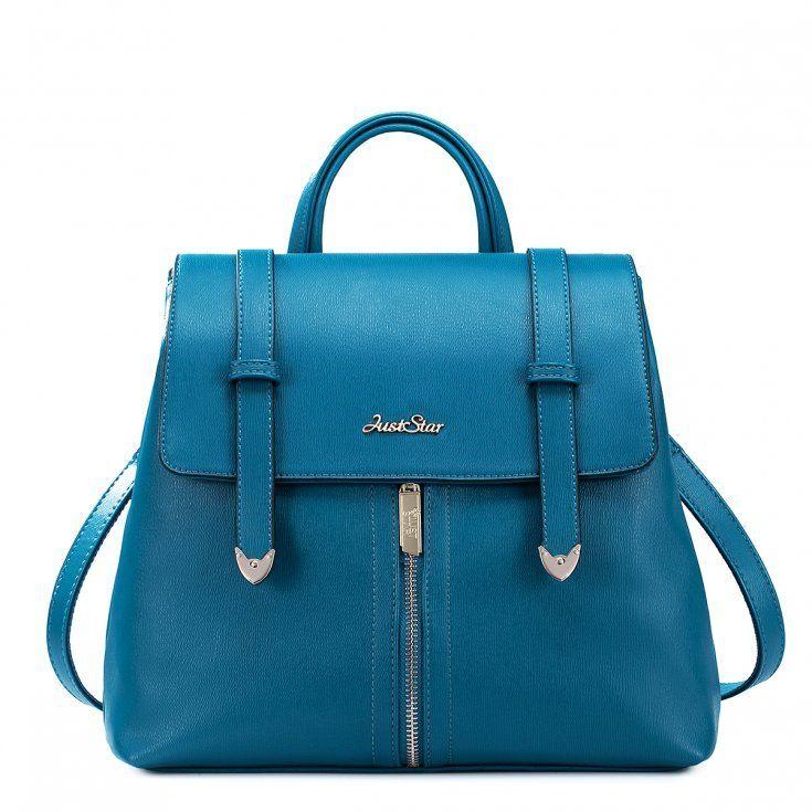 Stylowy torebko-plecak Modry - zdjęcie 1