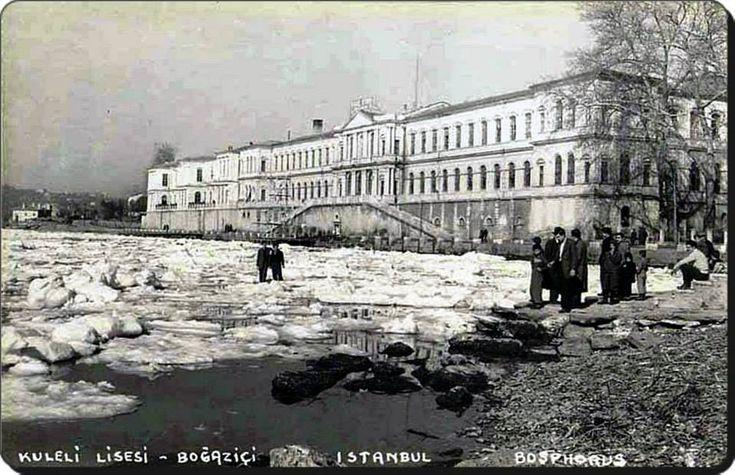 Çengelköy / Kuleli Askeri Lisesi - 1954 kışı
