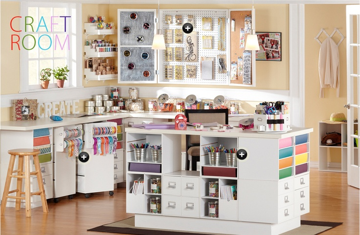 This is totally my dream creative room!!!