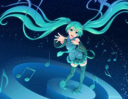 sing along with miku lol XD