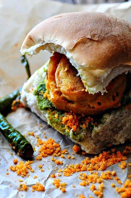 Vada Pav is often likened to an Indian-style burger. While a vada pav does resemble a burger in the way...