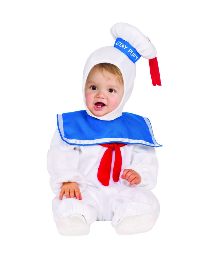 buy toddler stay puft marshmallow man ez on romper costume at wish shopping made fun - Where To Buy Toddler Halloween Costumes