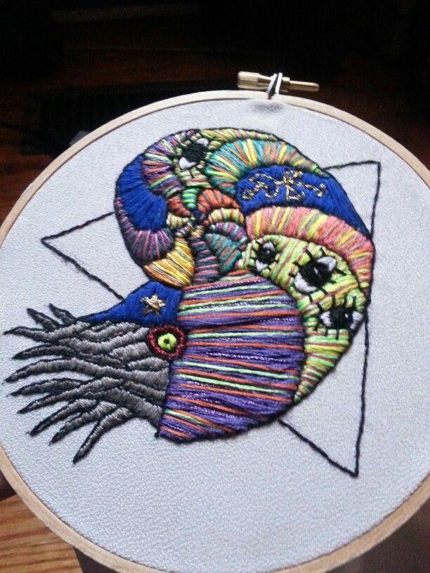 Chaos magik nautilus by Pickles LaVey