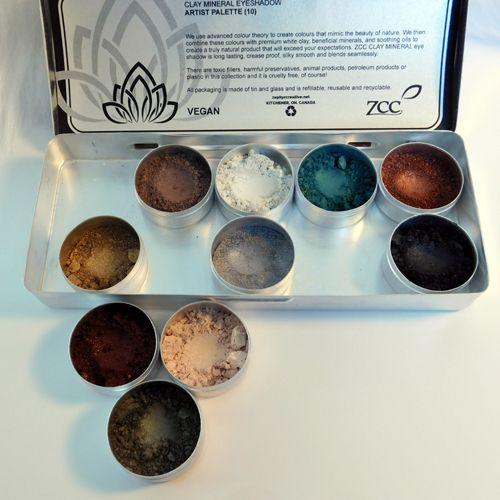 *NEW* Clay Mineral Eye Shadow Palette-WINTER FOREST***SPECIAL PRICE - Zephyr Creative #zccosmetics #vegan #smallbatch #madeincanada