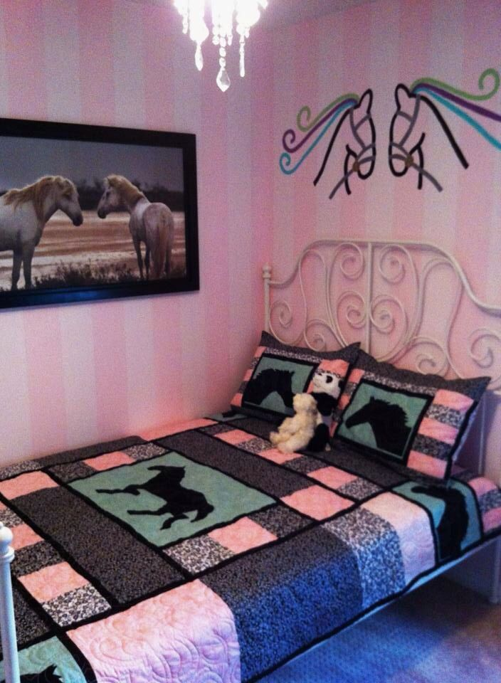 Horse quilt I made for Azriella she loves horses                                                                                                                                                      More