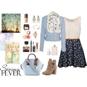 """Spring Fever"" by annakillerangel on Polyvore"