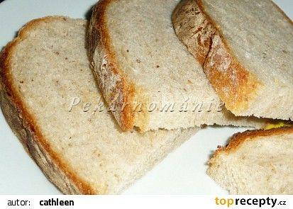 Světlý podmáslový chléb z remosky recept - TopRecepty.cz