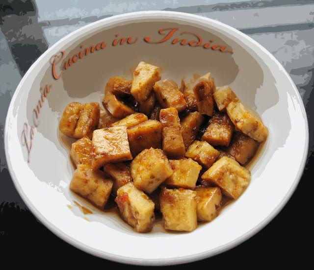 La mia cucina in India: Il Tofu - come trattarlo prima di cucinarlo