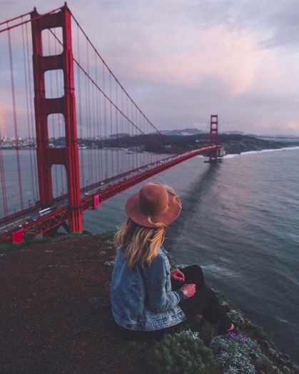 Golden Gate Bridge, San Francisco. Photo creds: insta @ urbanoutfitters