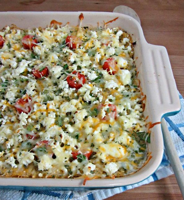Cheesy Greek-Style Baked Quinoa - Profile 2