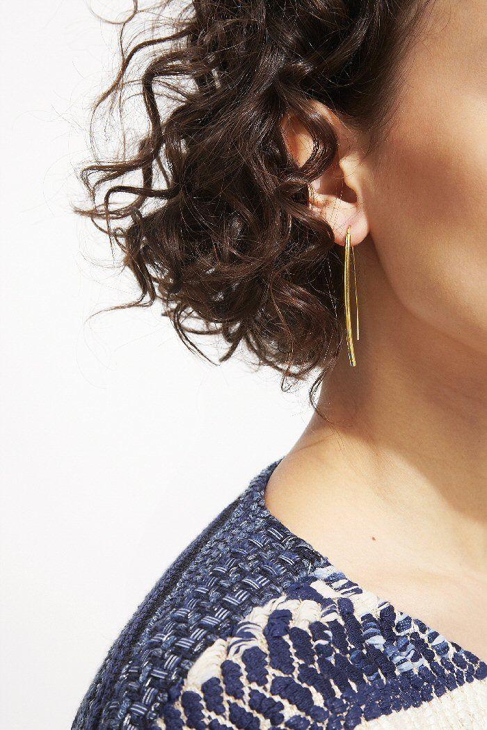 Soko solid upcycled brass earring   #boucles #earrings #eyrnalokkar #oorbellen #øreringe #örhängen #イヤリング  #bijoux #jewel #jewellery #jewelry #schmuck #ädelsten #juvel #juweel #ジュエリー #upcycled