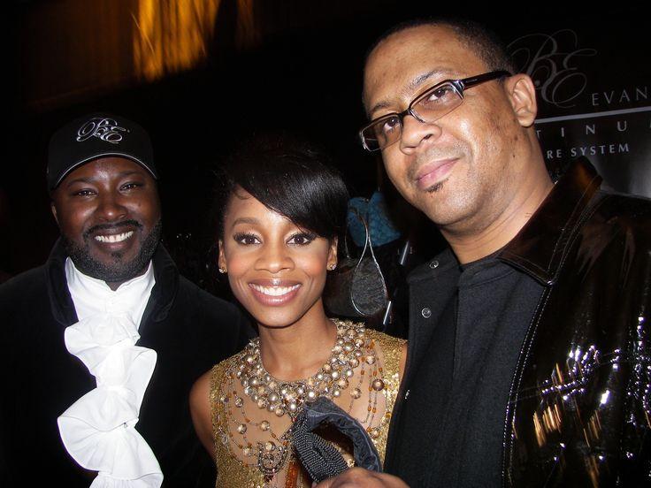 Good friend of Mine, Bernard Evans - Celebrity Stylist. #tbt #love #hair #hairstylist #awesome #celebrities #Backstage