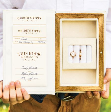 """Wedding keepsake box - such a sweet reminder of the day you said """"i do"""""""