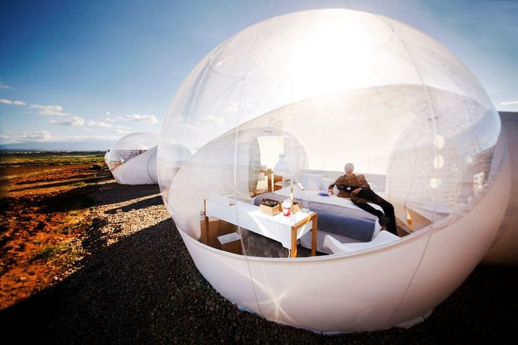 Chambre bulle - Hotel Aire de Bardenas - Espagne