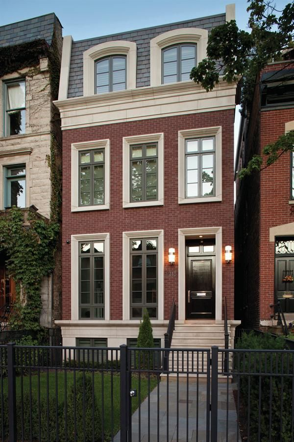 Infill done right: DePaul is an infill house in Chicago, built by Environs Development.