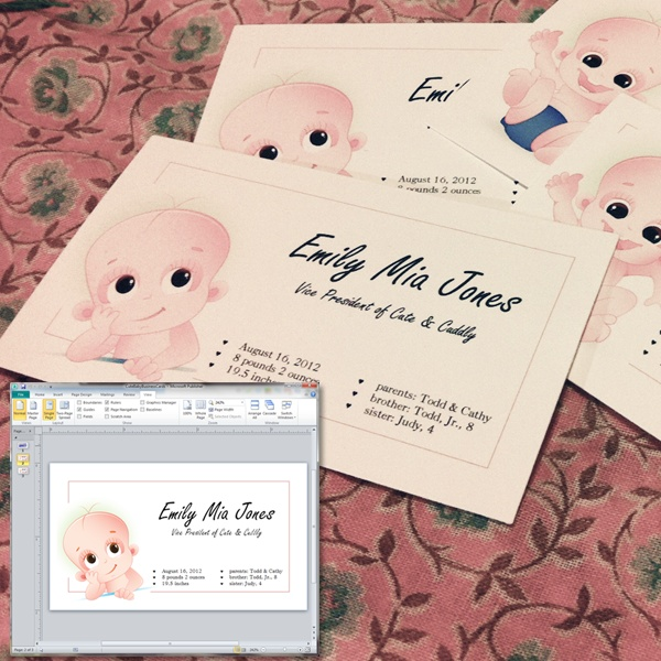16 best Templates Tutorials images – Create Your Own Baby Announcement