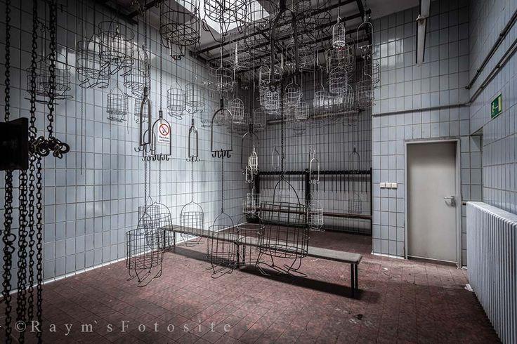 Zeche M,Zeche 555 Feets,mandjes,verlaten mijn,Duitsland,mijnwerkers mandjes,urbex,abandoned,lost place