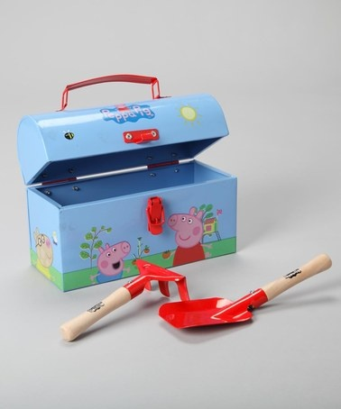 Peppa Pig Tin Box with Tools  by Navigate on #zulilyUK today!