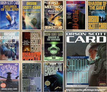 a literary analysis of enders game by orson scott card Ingl3104 ender s game literary analysis topics: problem solving in the novel enders game the author orson scott card shows us a complete different world than we are used to set into the future.