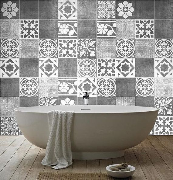 Tiles Decals - Luxury Tiles Stickers - Tile Stickers - Tiles for Kitchen…