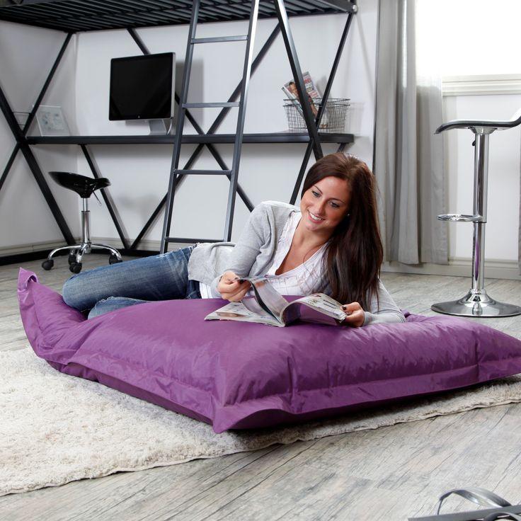 Big Joe Large Pillow Lounger Chair - Comfy reading pillow!! #PrimroseReadingCorner
