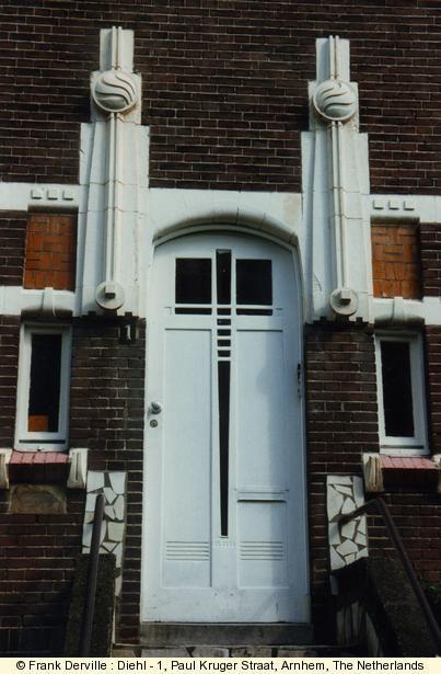Art Deco / Frank Derville: Diehl - 1, Paul Kruger Straat, Arnhem, Netherlands